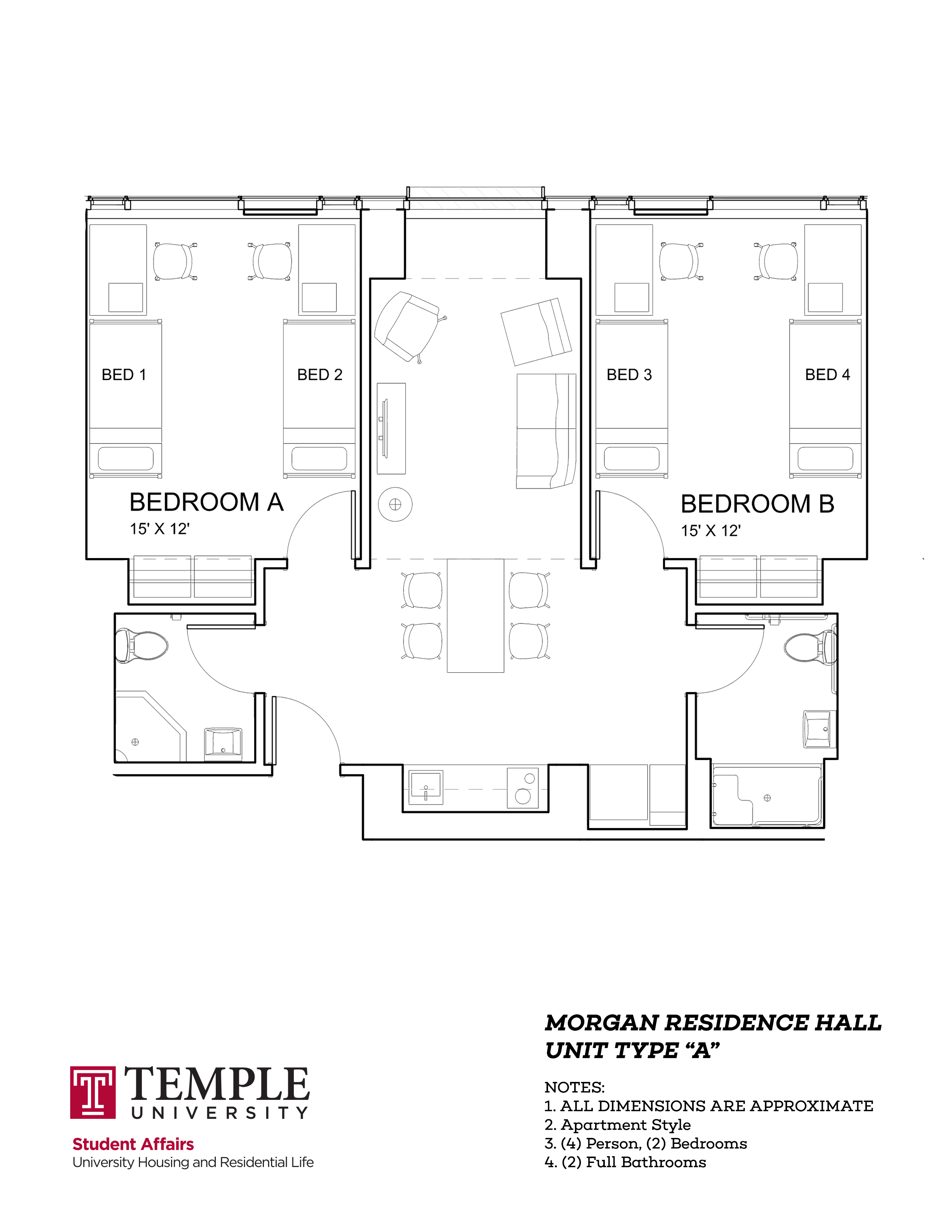 Morgan Hall South: Type A