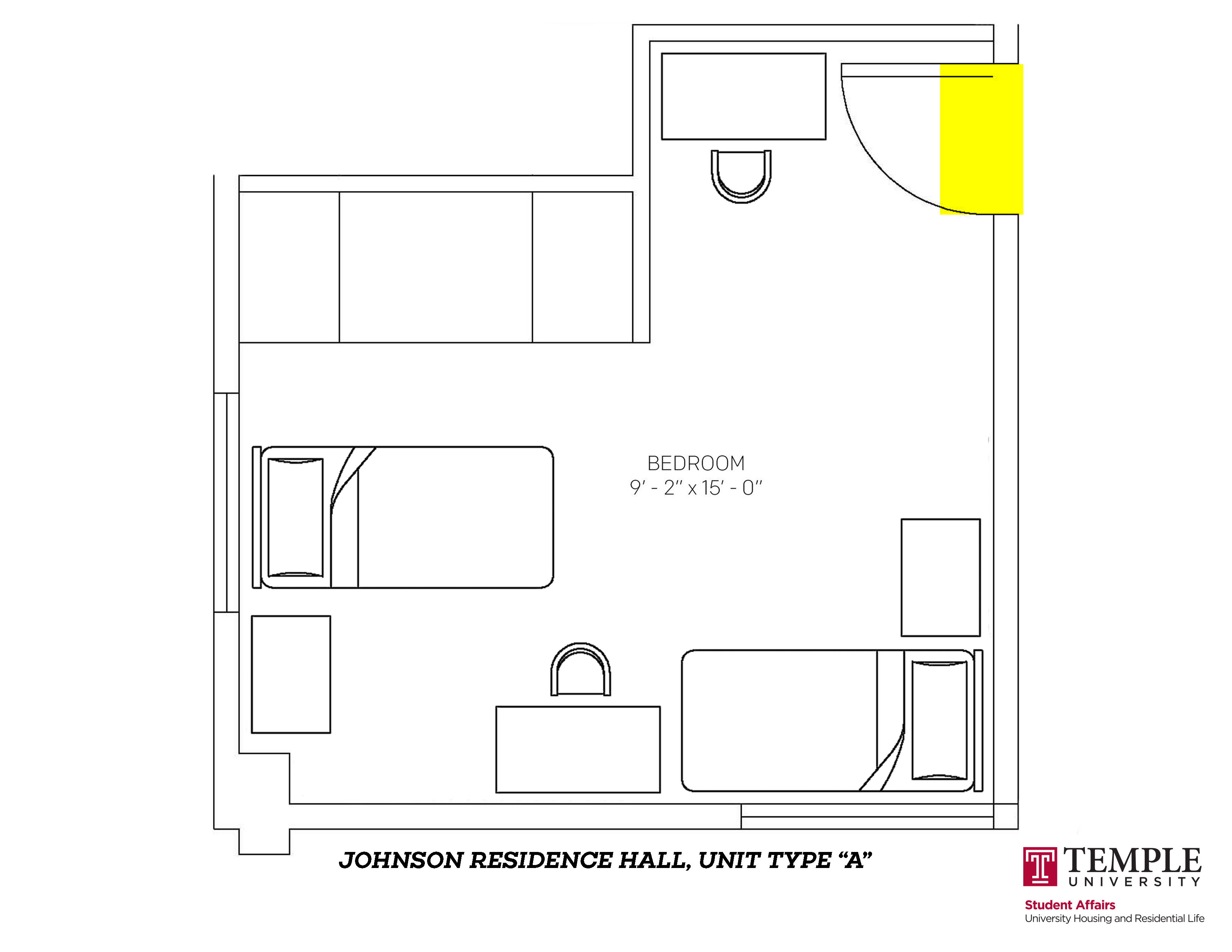 Johnson Hall: Unit A