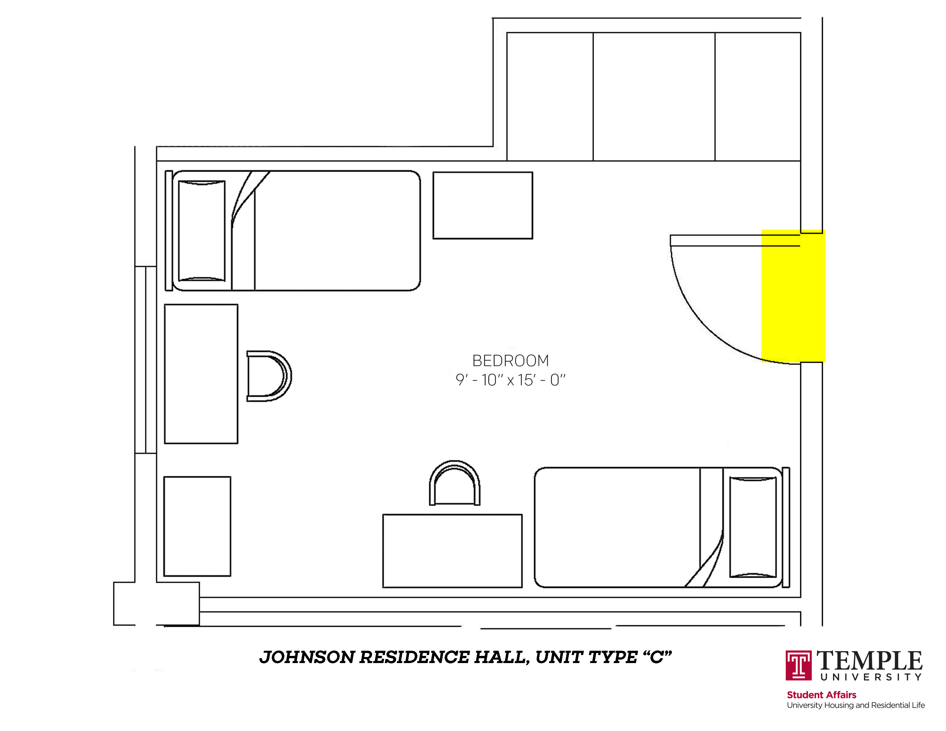 Johnson Hall: Unit C