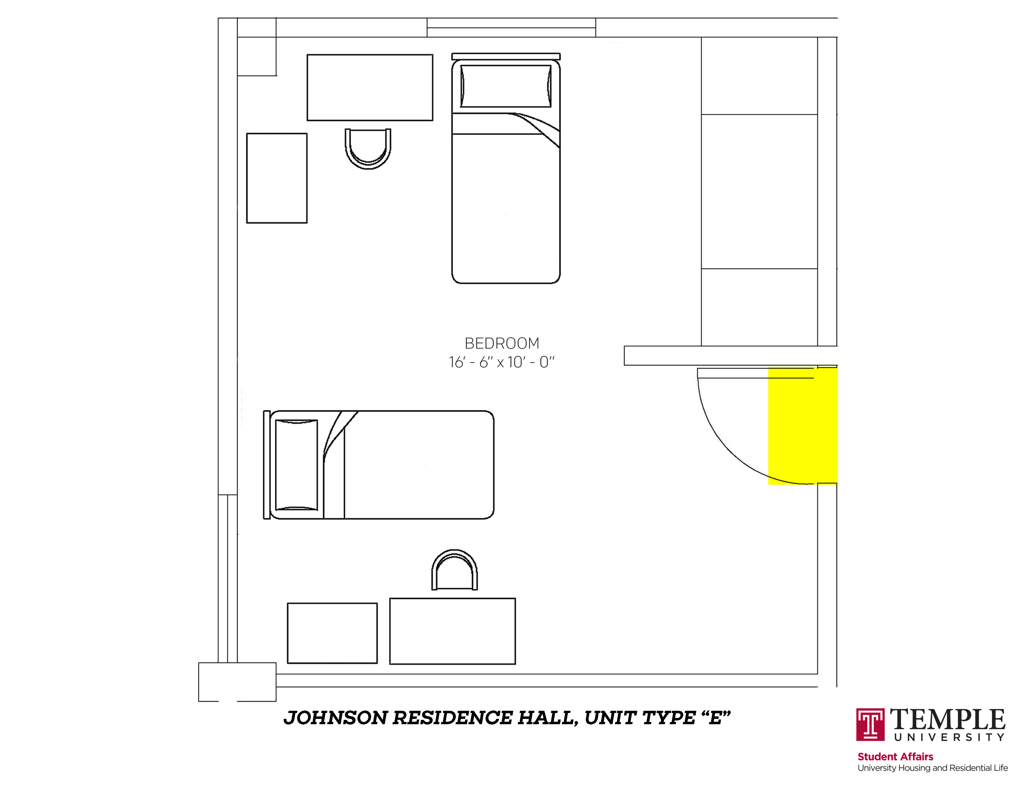 Johnson Hall: Unit E