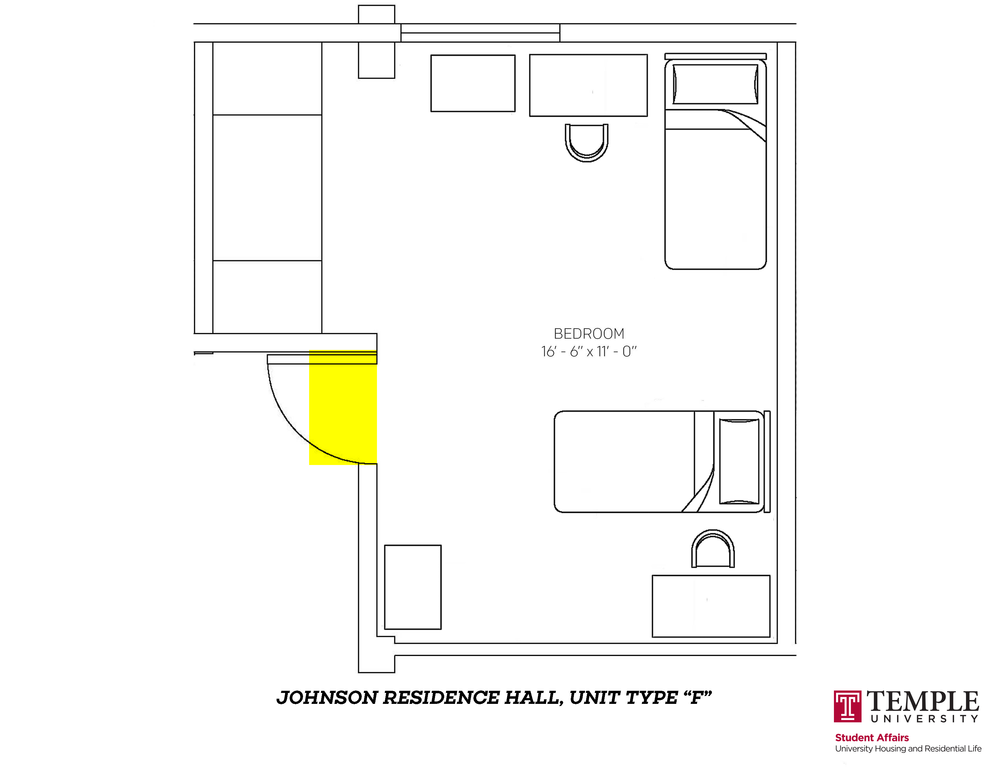 Johnson Hall: Unit F