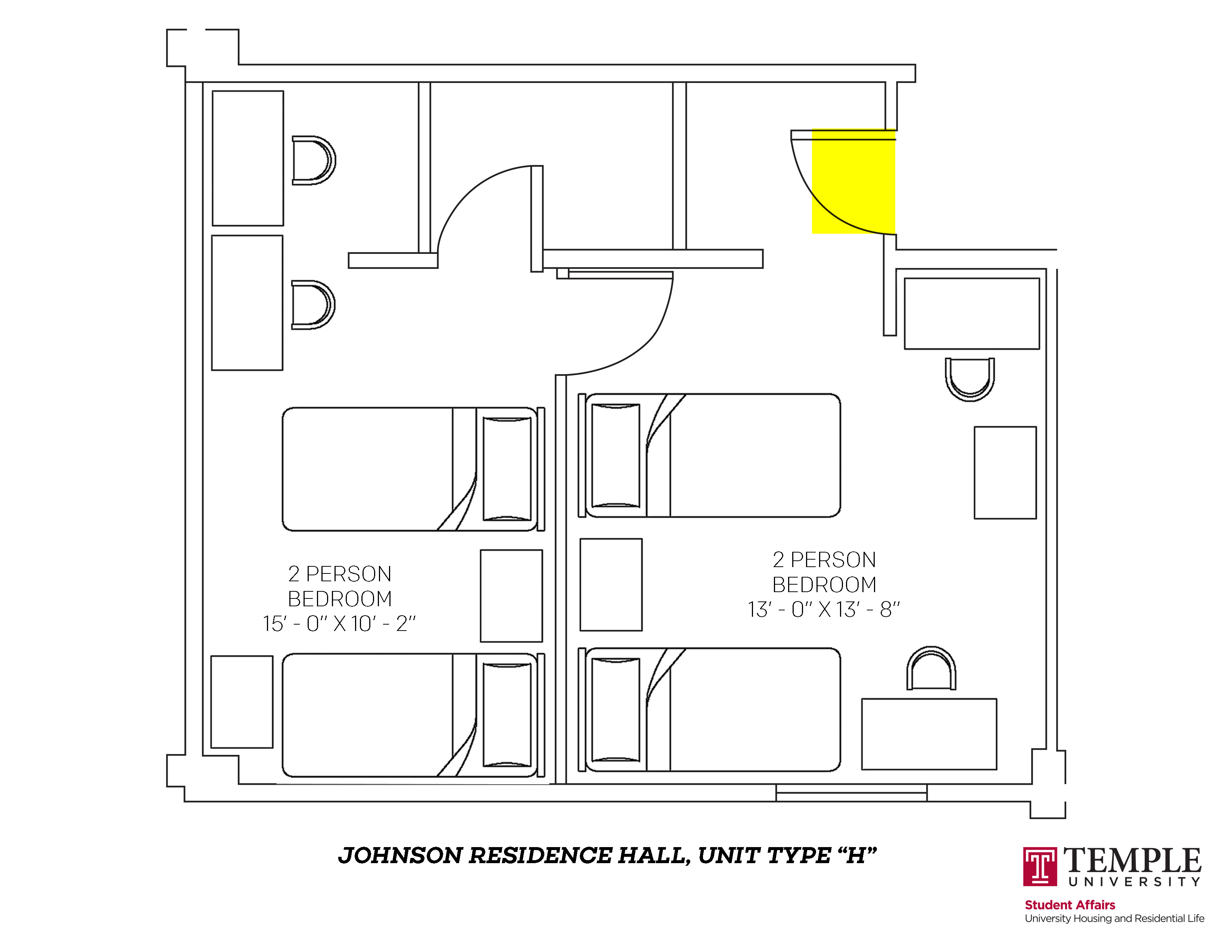Johnson Hall: Unit H
