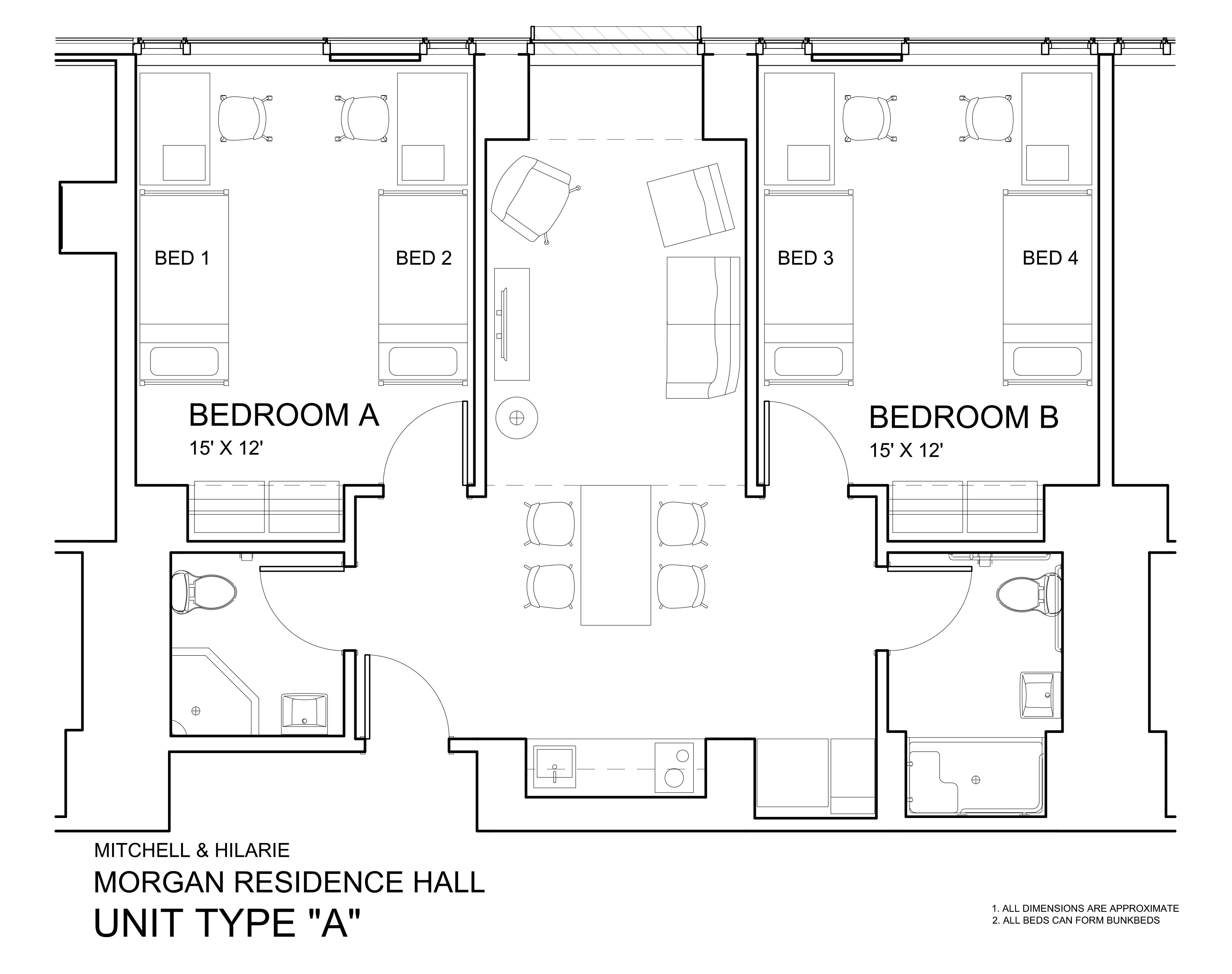 Morgan Hall University Housing And Residential Life