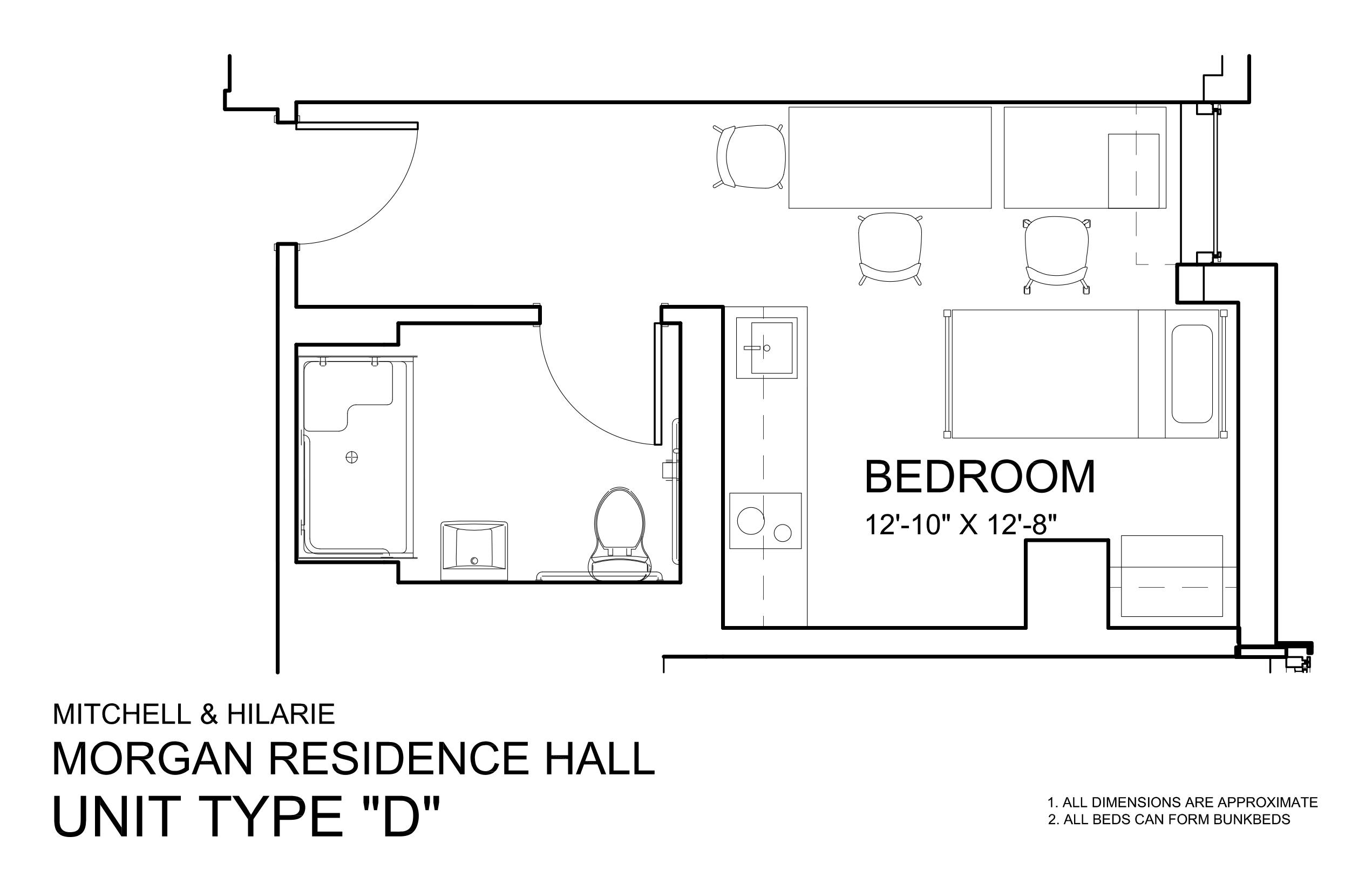 Morgan Hall North: Type D