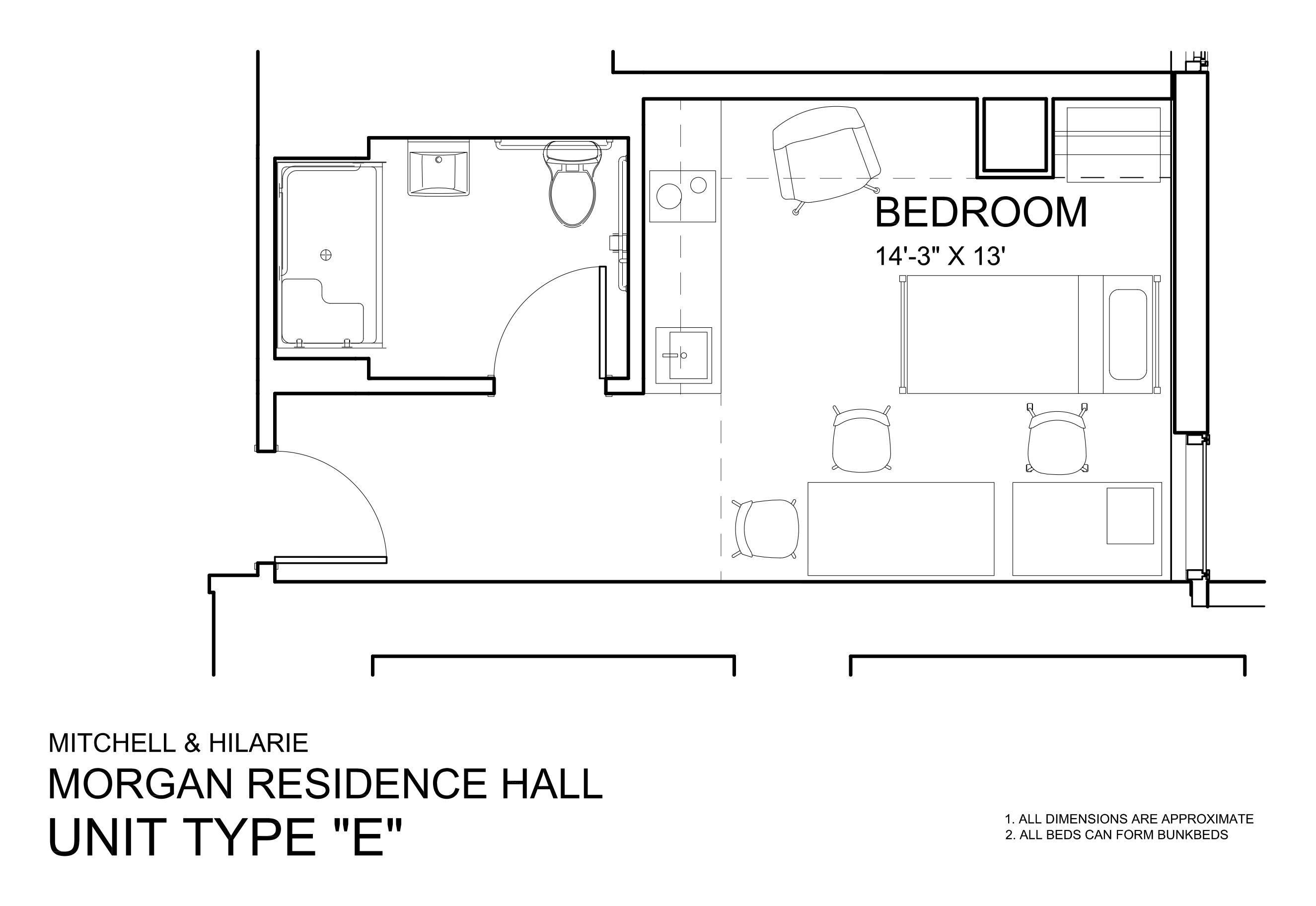 Morgan Hall North: Type E