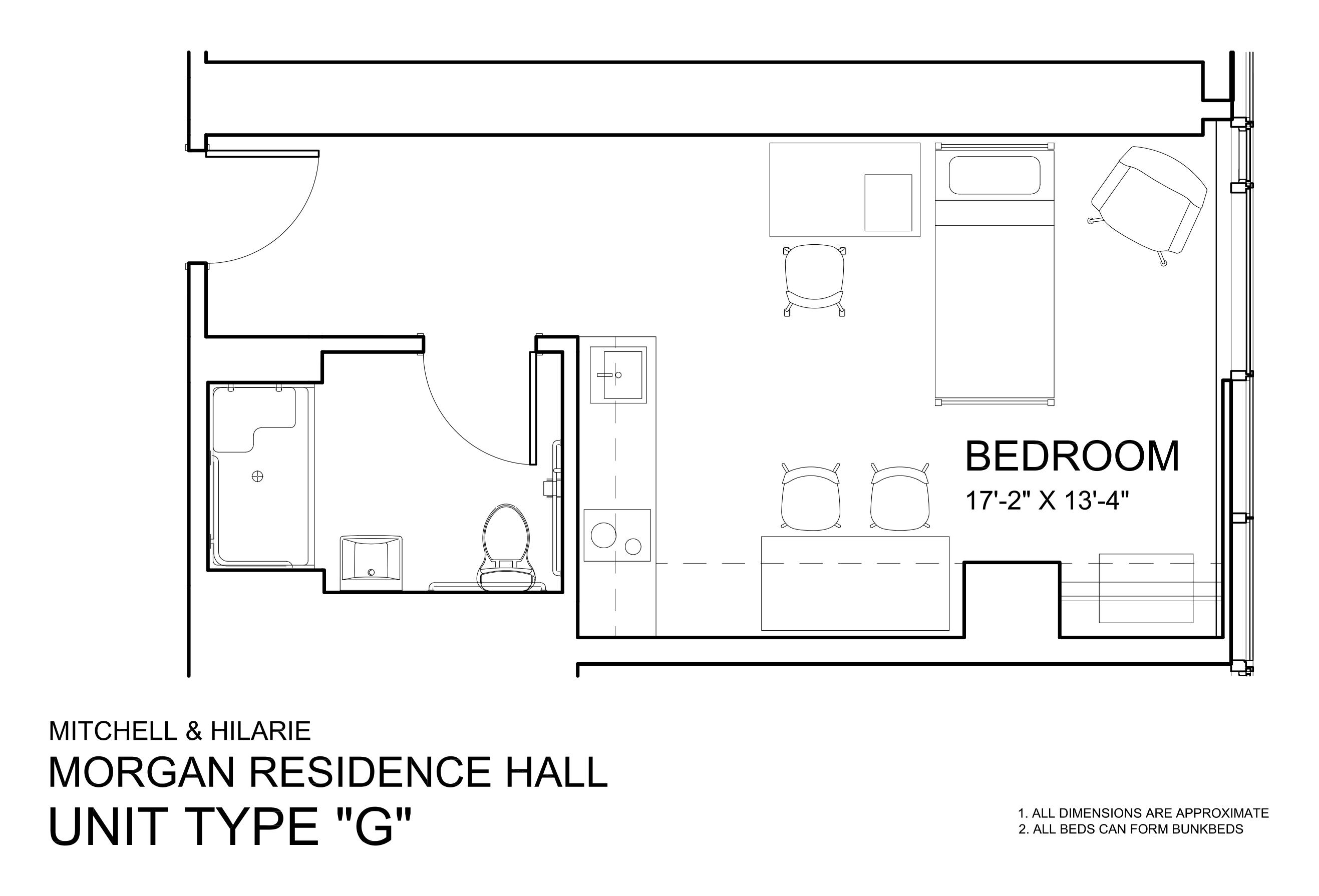 Morgan Hall North: Type G
