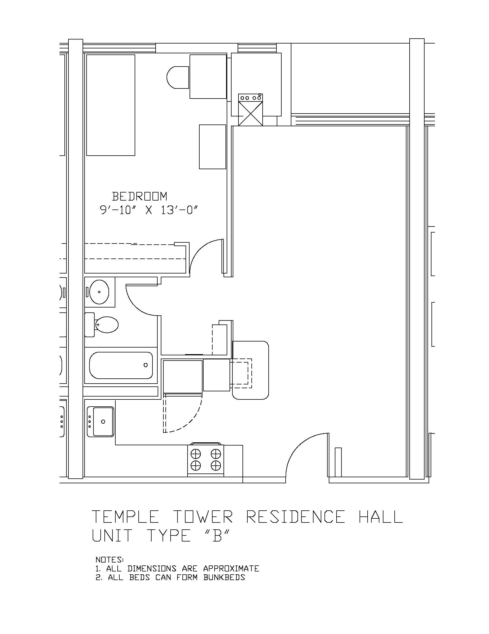 Temple Towers: Type B