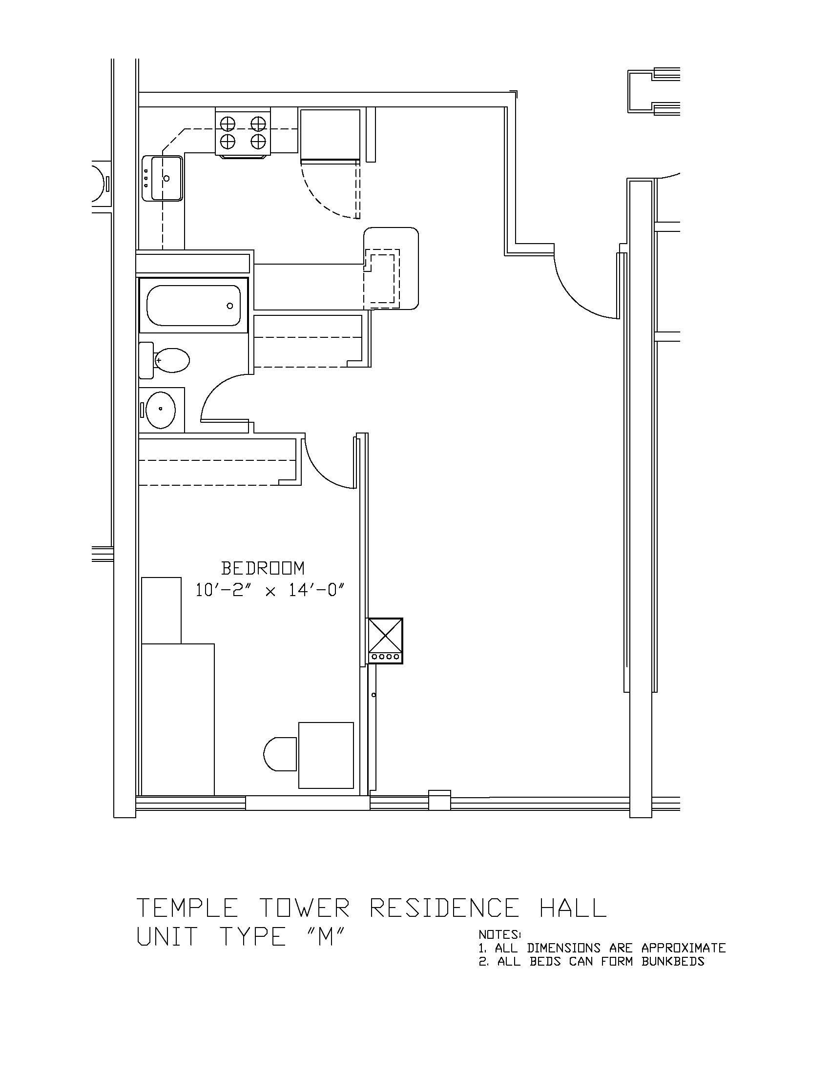 Temple Towers: Type M