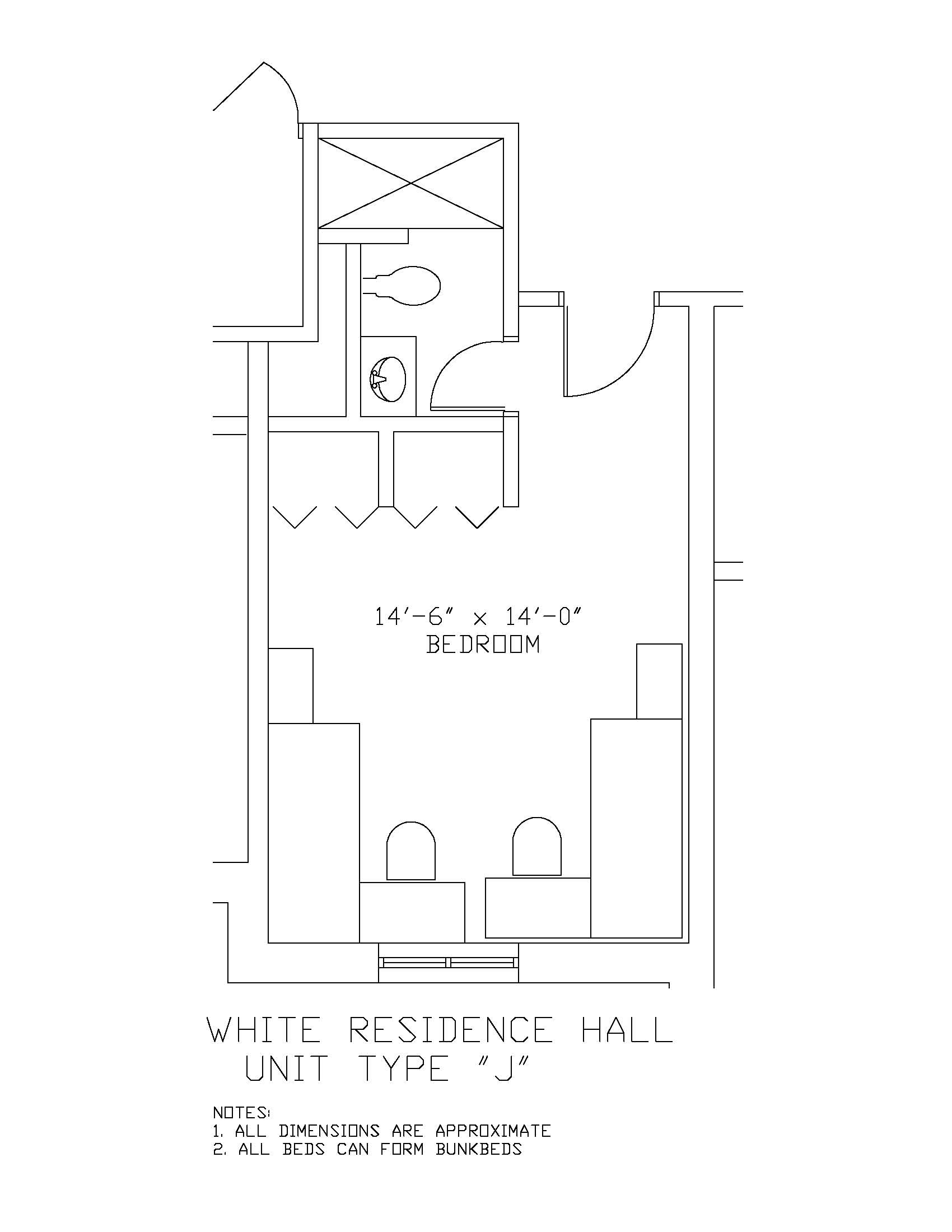 James S. White Hall: Type I