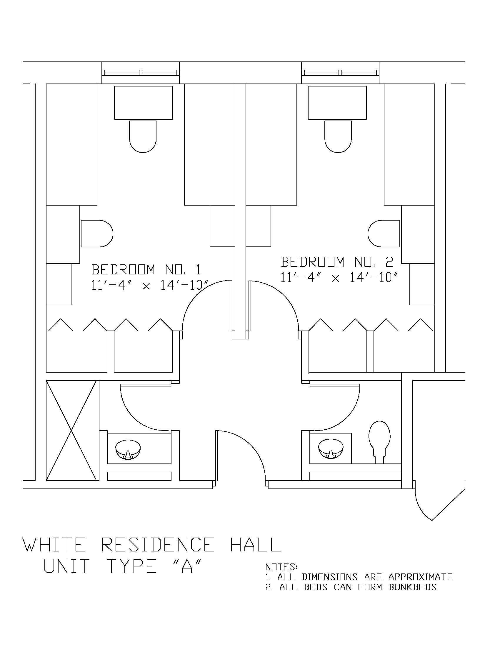 James S. White Hall: Type A