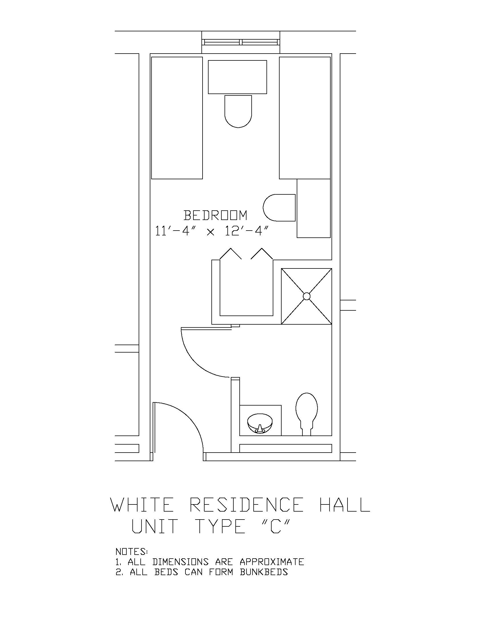 James S. White Hall: Type C