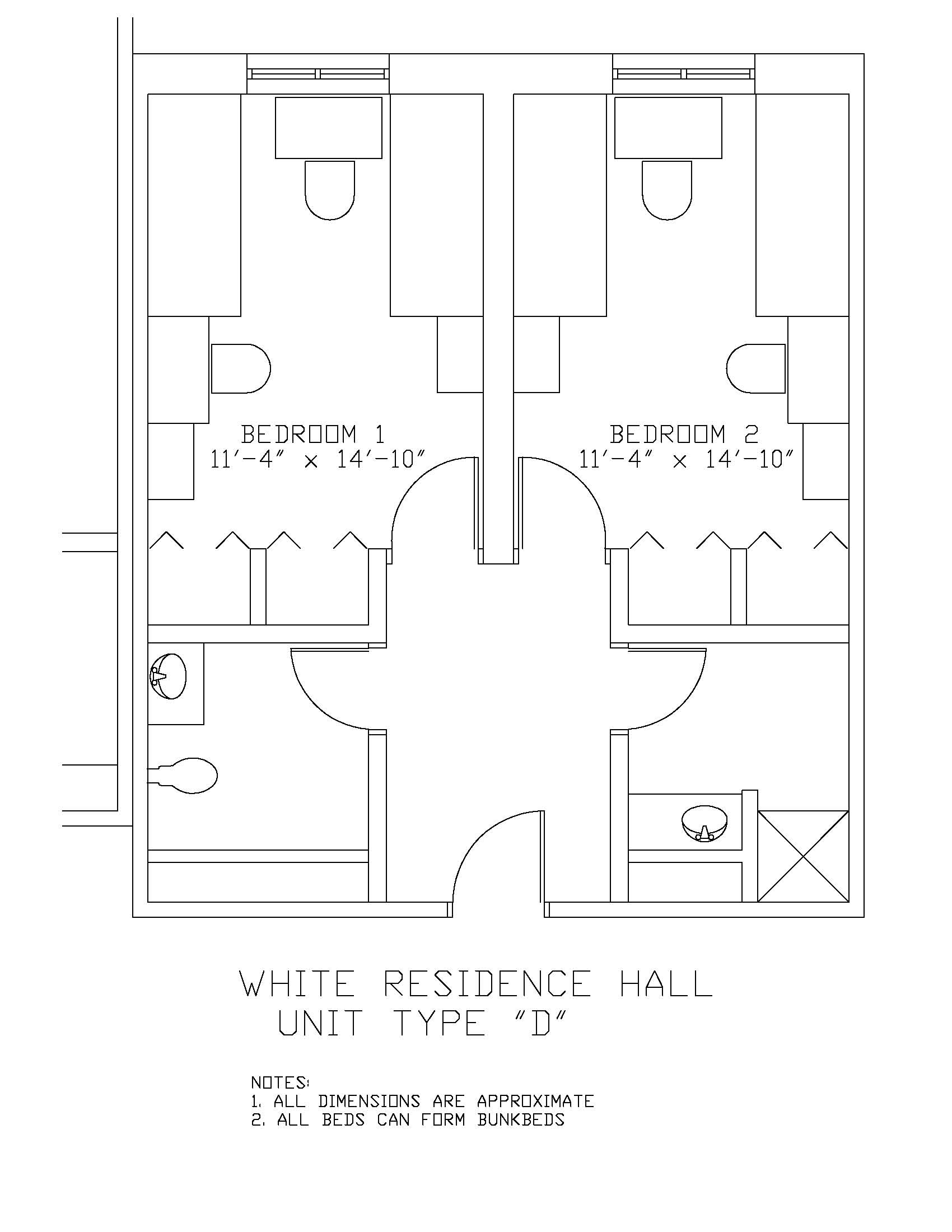 James S. White Hall: Type D