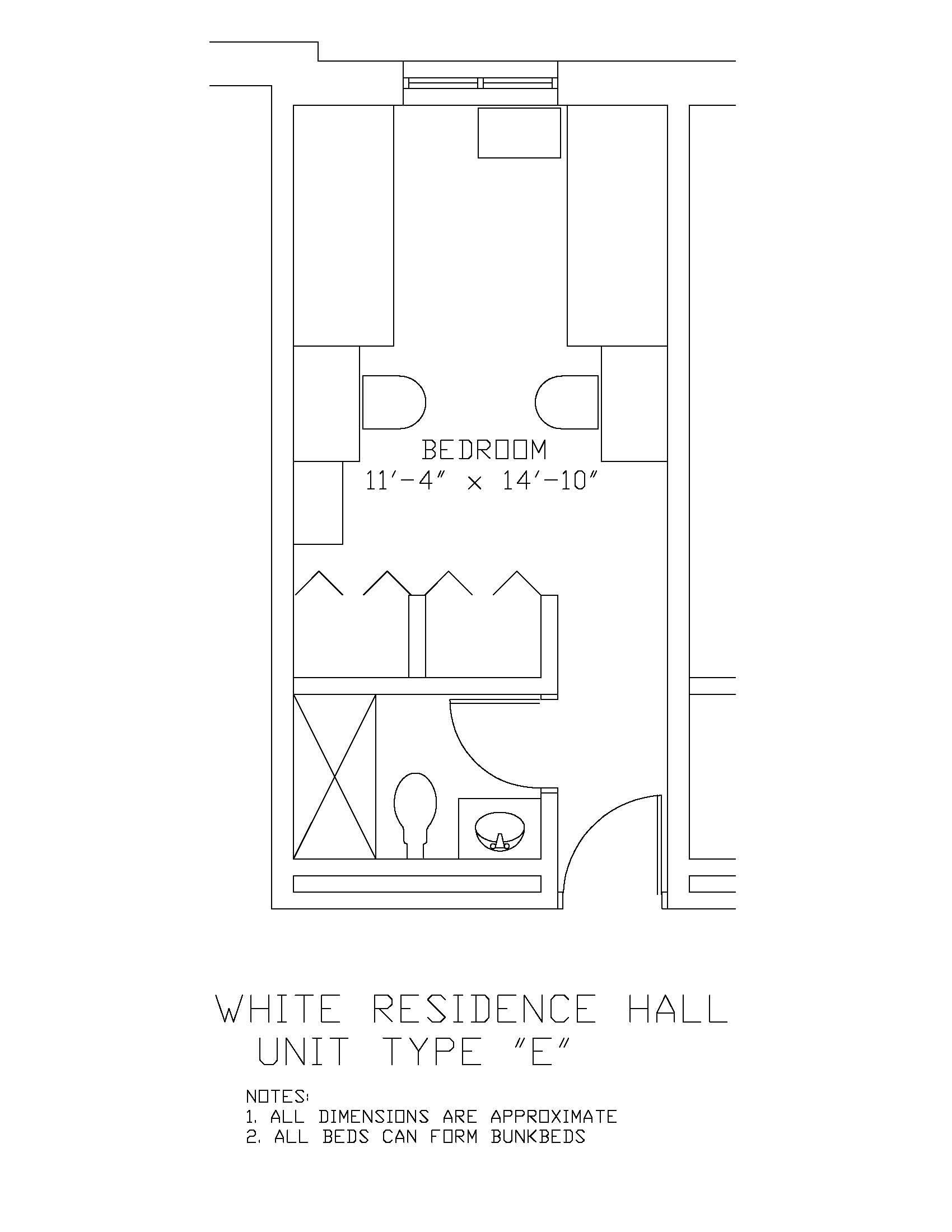 James S. White Hall: Type E