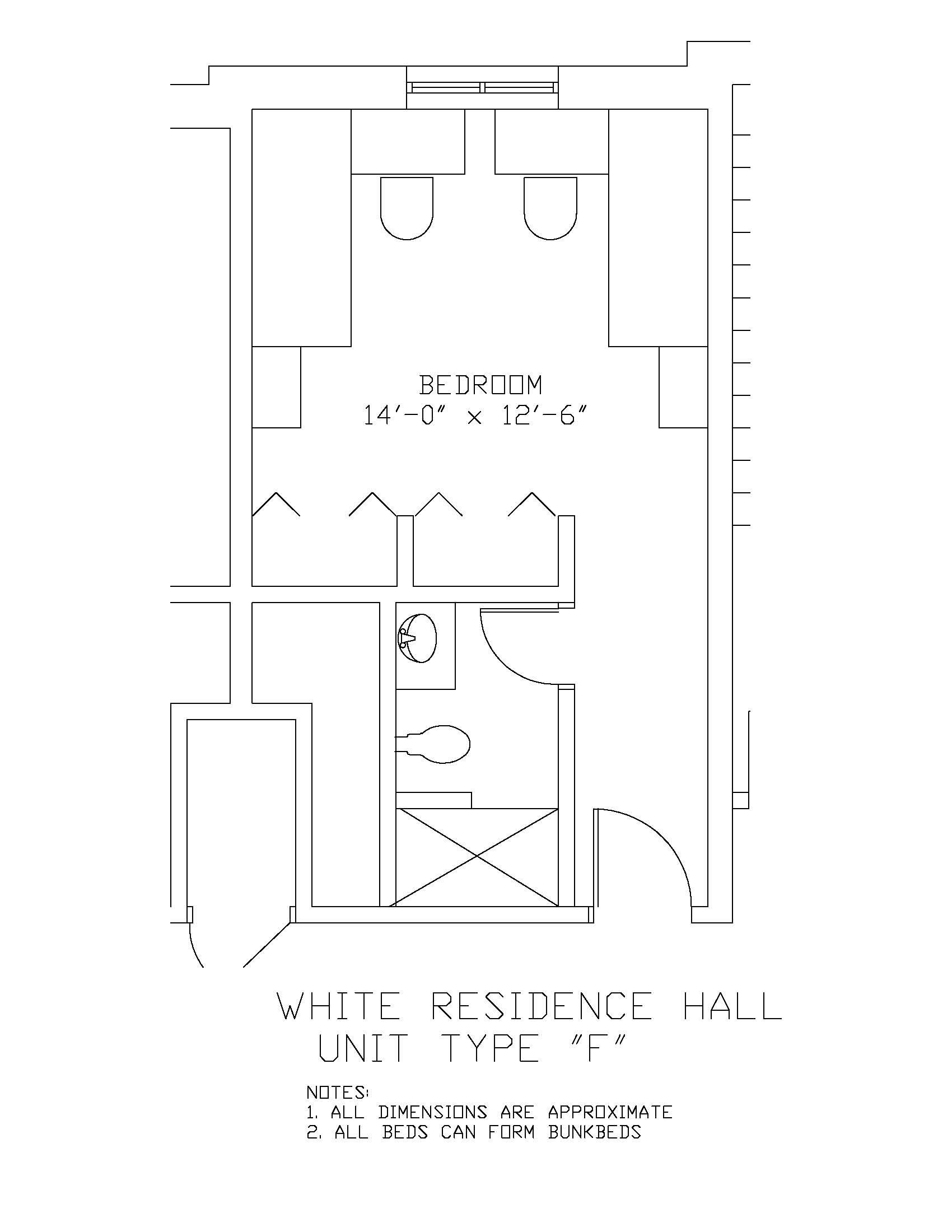 James S. White Hall: Type F