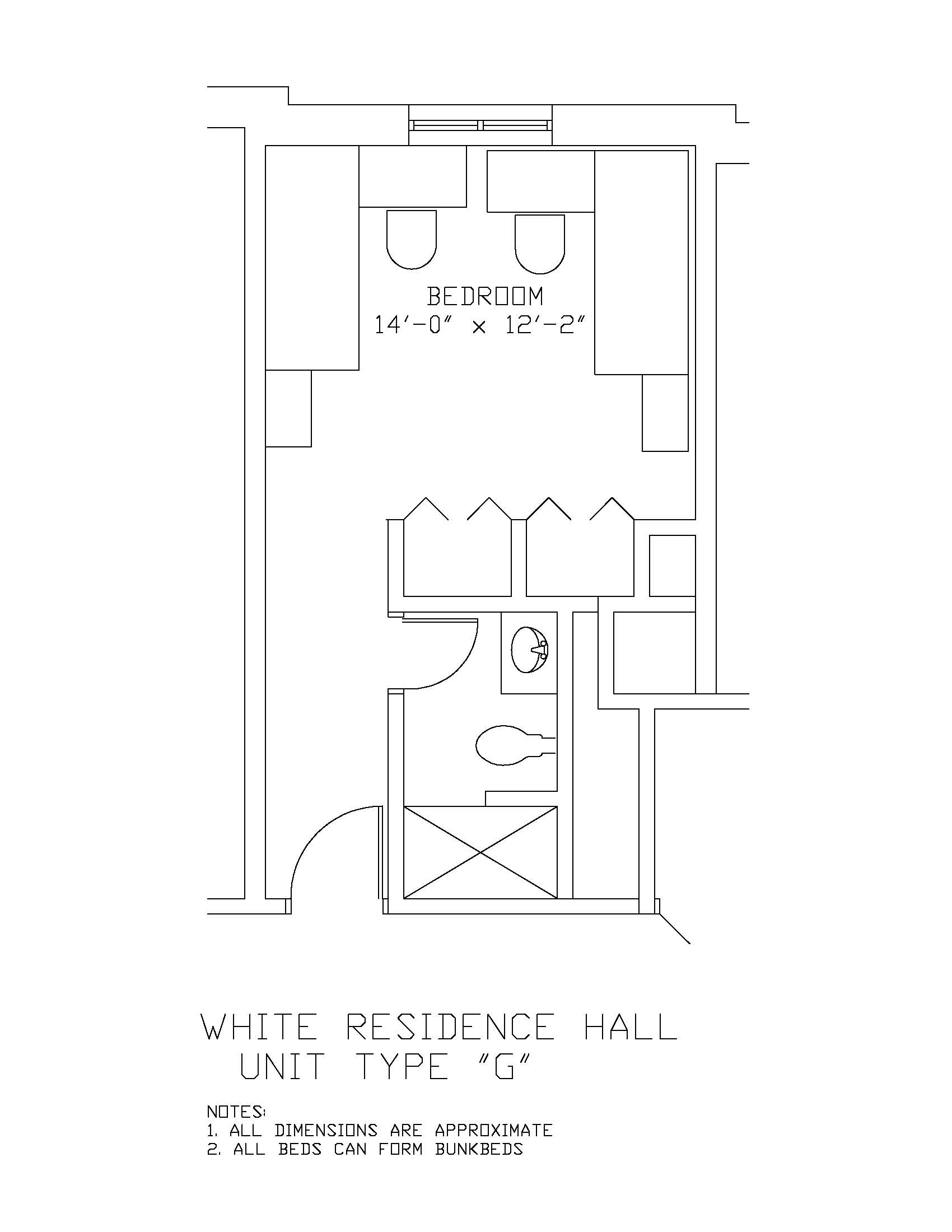 James S. White Hall: Type G
