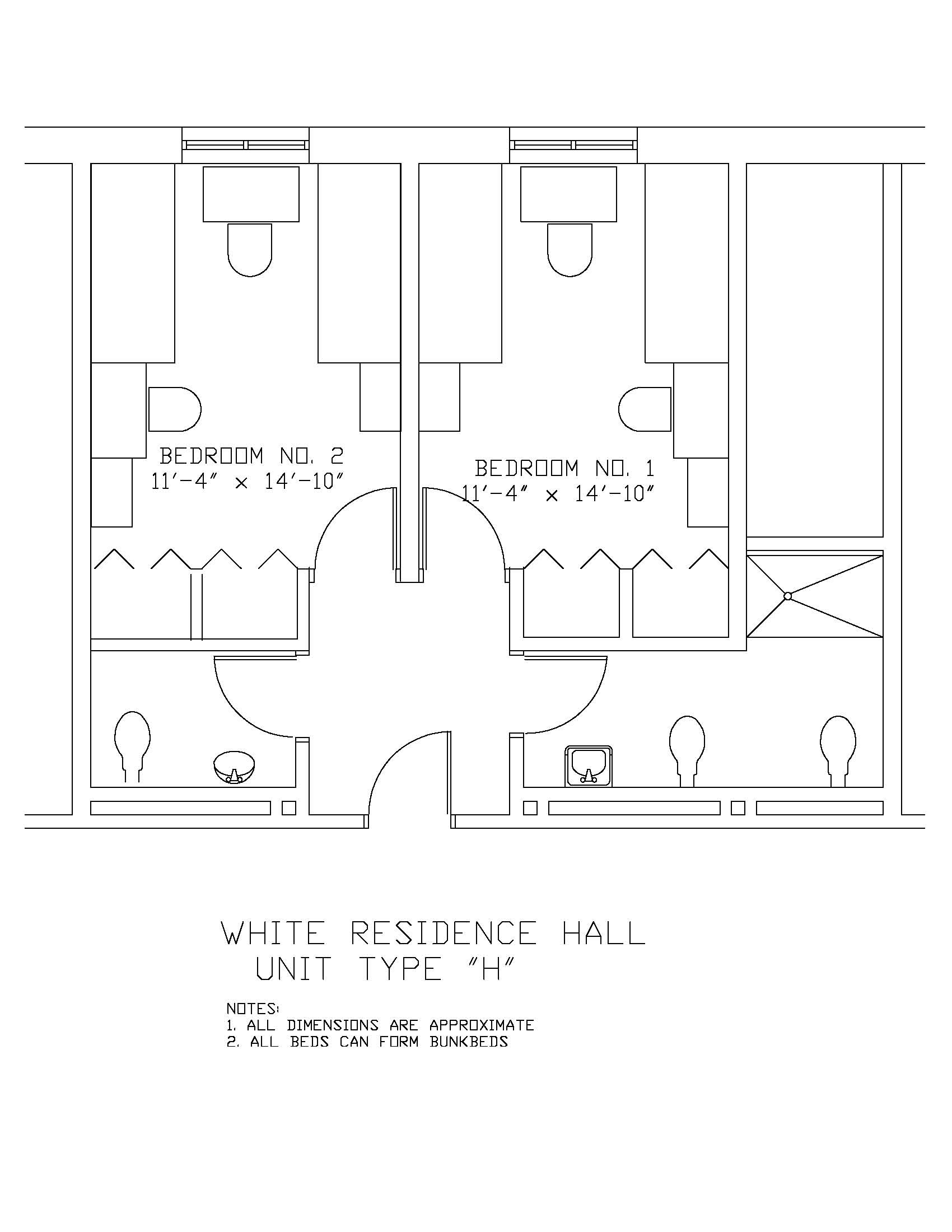James S. White Hall: Type H