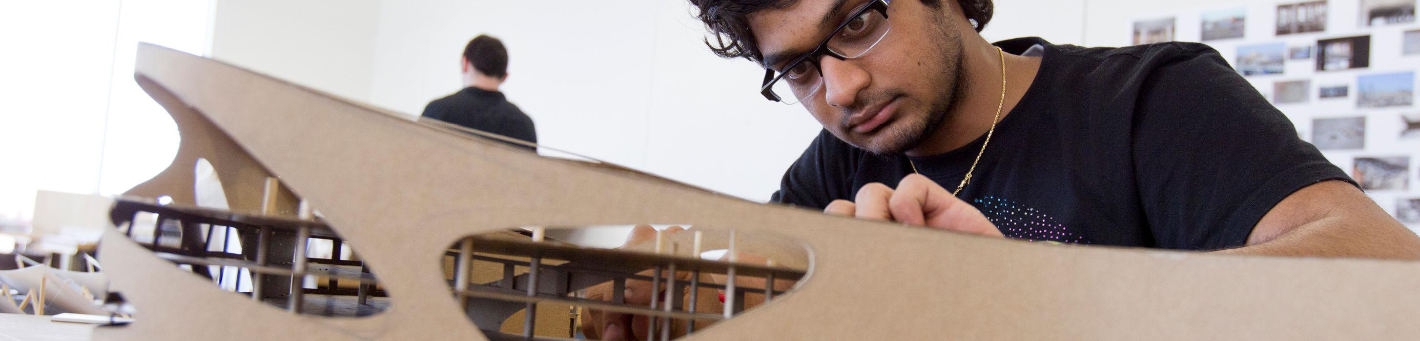 student building model
