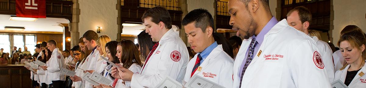 Graduating Class of Podiatric Students