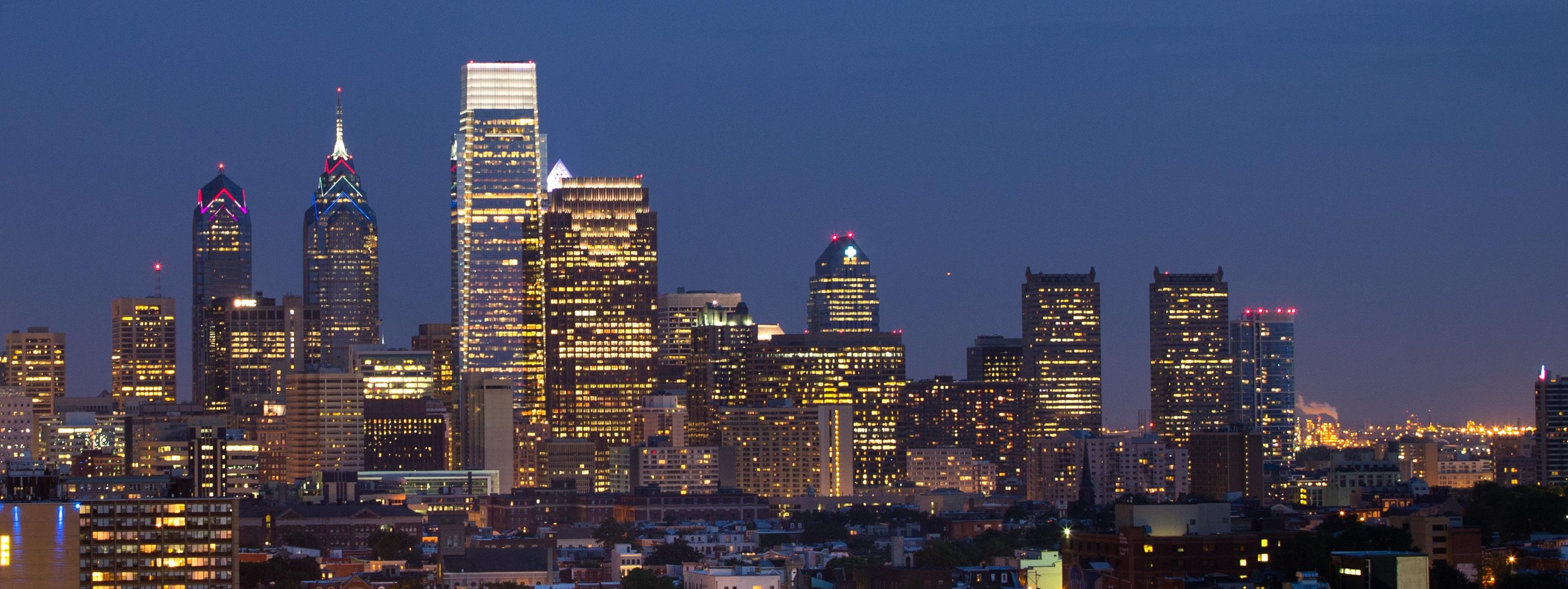 Skyline image of Philadelphia
